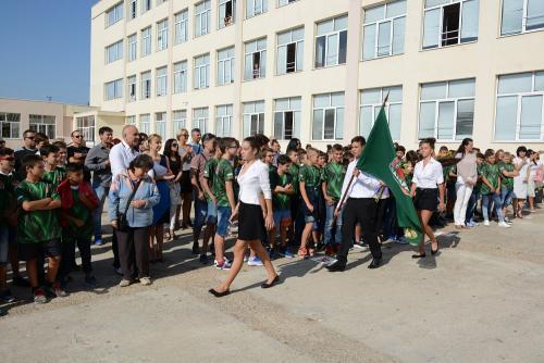Откриване на Спортно училище - 1 септември 2017-2 снимка