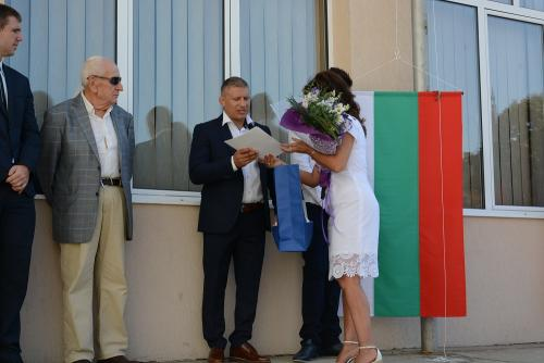 Откриване на Спортно училище - 1 септември 2017 - 5 снимка