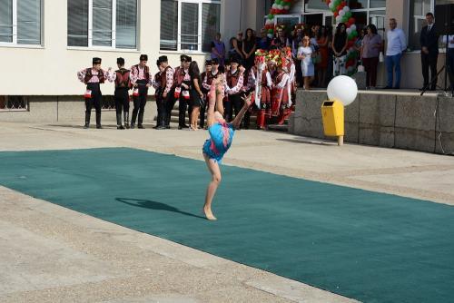 Откриване на Спортно училище - 1 септември 2017 - 6 снимка