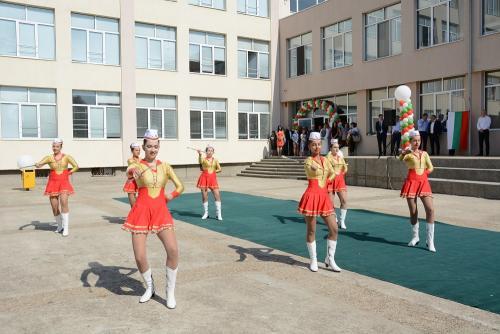 Откриване на Спортно училище - 1 септември 2017 - 8 снимка
