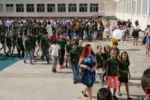Откриване на Спортно училище - 1 септември 2017 - 9 снимка