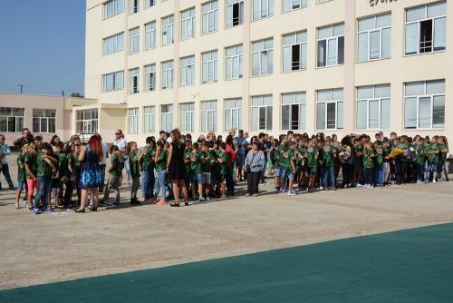 Откриване на Спортно училище - 1 септември 2017